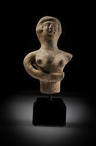 Rare- Biblical Iron Age Figure Of An Astarte, 800 BC