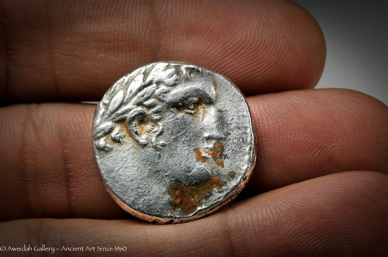 "Ancient biblical SHEKEL OF TYRE, ""30 PIECES OF SILVER"""