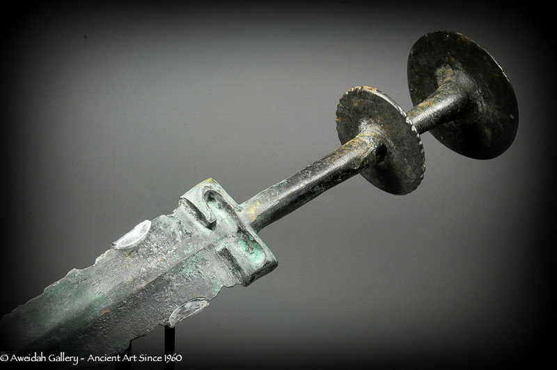 Ancient Persian Bronze Sword, 1200 - 800 BC