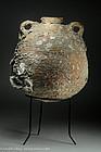 Byzantine shipwreck pottery wine amphora, 400 AD