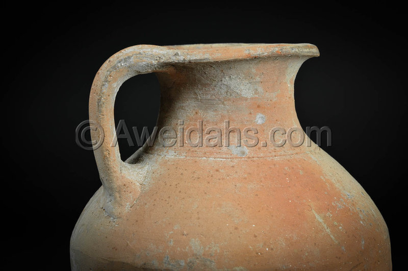 Greek-Hellenistic pottery wine pitcher, 300 BC