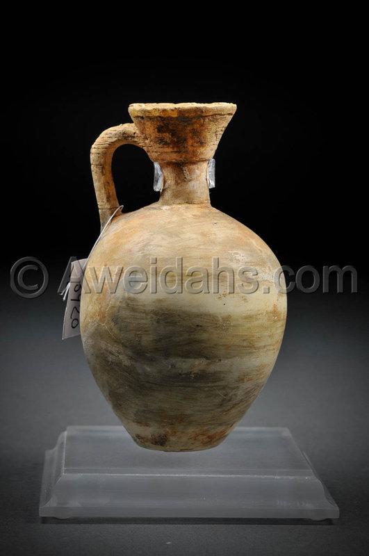 Canaanite Late Bronze Age �Cypriot� alabaster BilBil