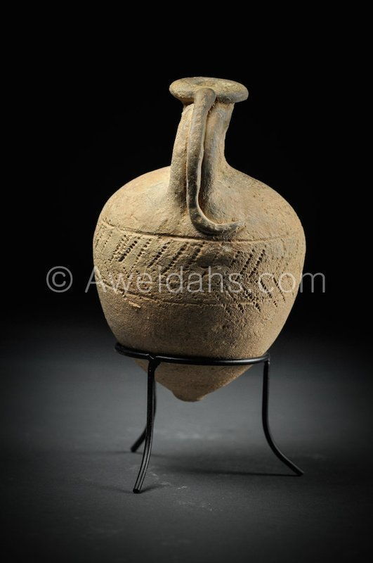 Canaanite Middle Bronze Age Snake jar, 1730 BC