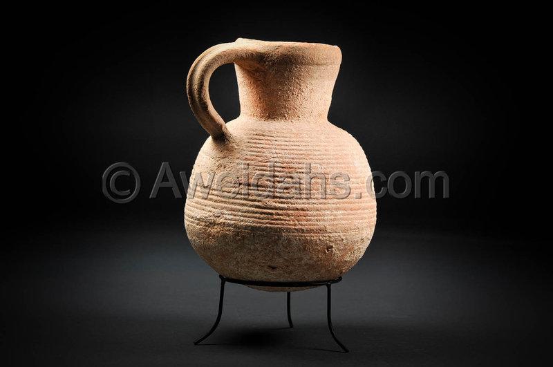 Biblical Roman Herodian pottery wine pitcher, 1st Century AD