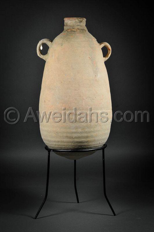 Ancient Hellenistic pottery wine storage amphora, 2nd - 1st Cent. B.C.