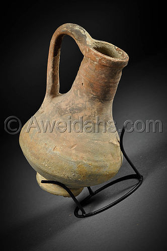 Greek - Hellenistic pottery wine pitcher, 330  - 100 BC
