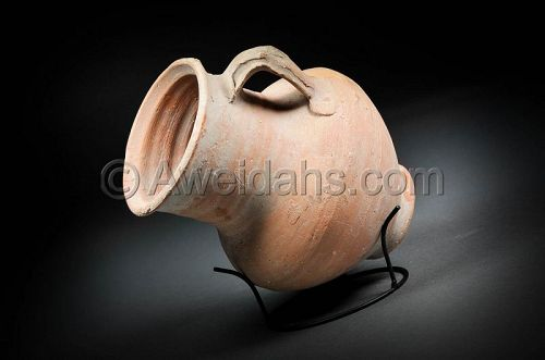 Greek - Hellenistic pottery wine pitcher, 300 - 100 BC