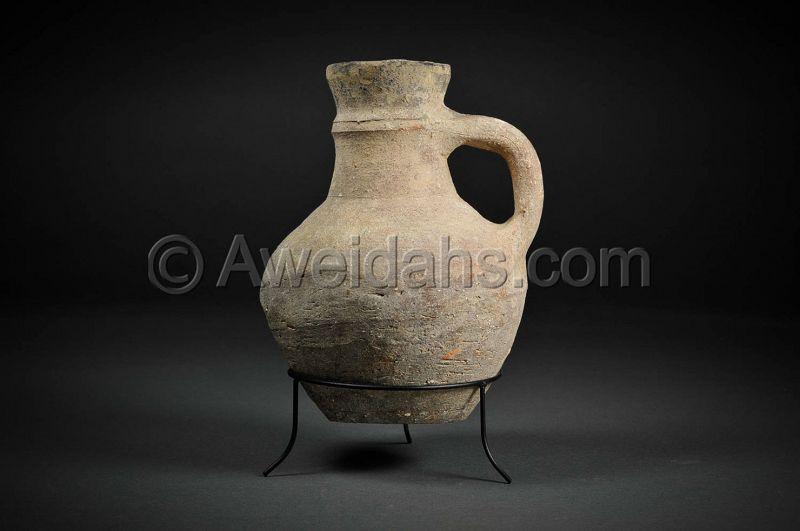 Byzantine pottery wine pitcher, 4th � 5th Cent. AD
