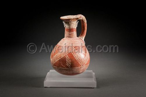 Ancient Cypriot polished pottery jungle, 2nd Millennium BC