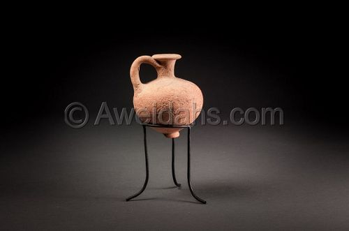 ANCIENT BIBLICAL MIDDLE BRONZE AGE PERFUME JAR, 1850 BC