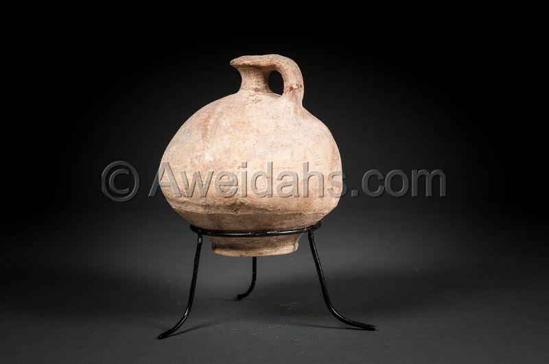 Ancient Greek - Hellenistic pottery perfume jar, 330 BC