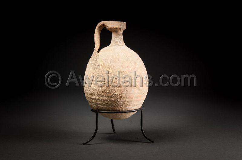 Ancient biblical Roman Herodian perfume jar, 37 BC - 70 AD