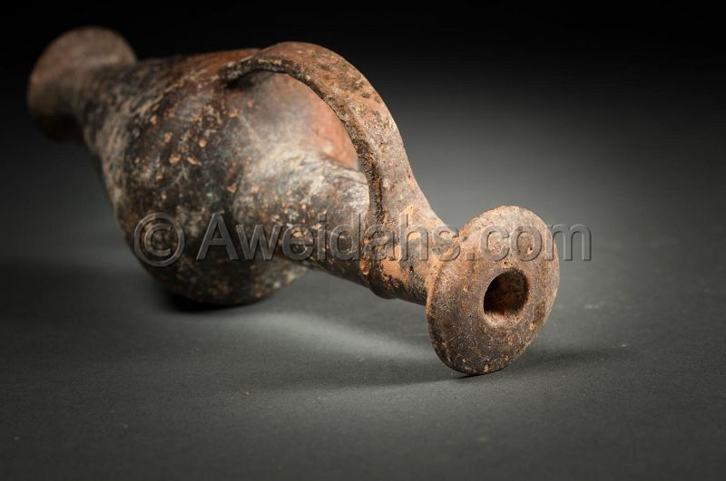 ANCIENT CYPRIOT BURNISHED POTTERY BILBIL, 1550 BC