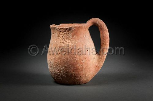 Ancient Chalcholithic Age pottery vessel, 4000 - 3100 BC