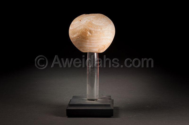 Egyptian predynastic stone mace-head, 3000 BC