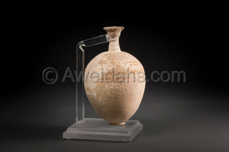 MIDDLE BRONZE AGE PAINTED POTTERY PERFUME JAR, 1850 BC