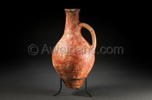 Ancient abydos wine pitcher, 3100 � 2700 BC