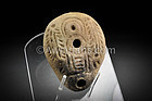 Egyptian - Hellenistic pottery oil lamp, 330 BC