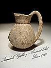 Ancient Canaanite Early Bronze Age Jar With A Handle