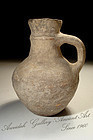 From  Israel Ancient Byzantine Pottery Pitcher, 400 AD