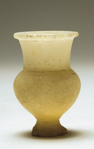 Egyptian New Kingdom Thistle Vessel