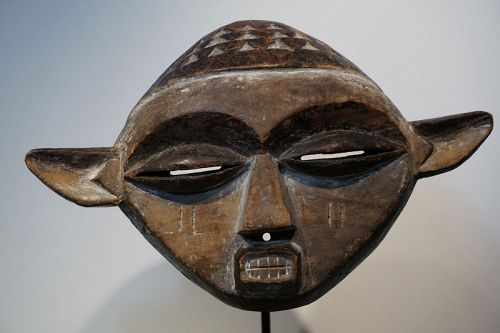 African Lintel Mask, Pende from Congo