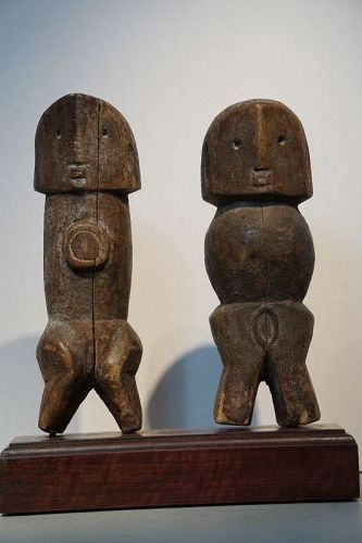 African Ngbaka Mythical Ancestors Seto and Nabo