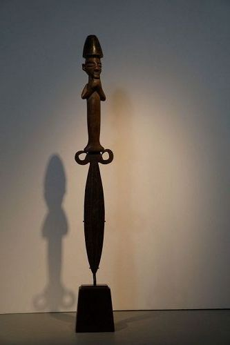 Fantastic Figural Yaka Knife from The Democratic Republic of Congo