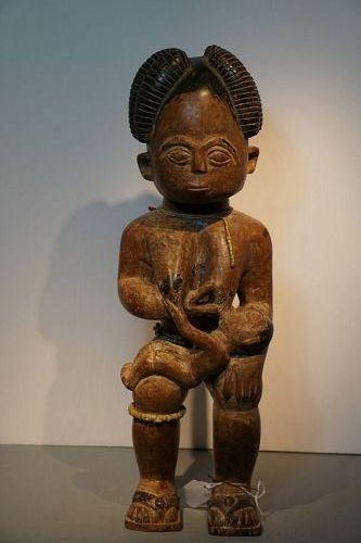African Ashanti Maternity Figure
