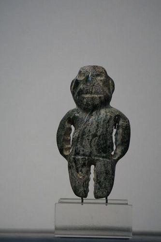 Pre-Columbian Guerrero Mezcala Jade Figure
