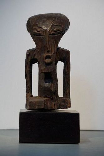 African Abstract Kasongo Figure from the Democratic Republic of Congo