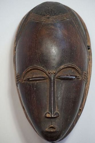 An African Baule Mask from the Ivory Coast