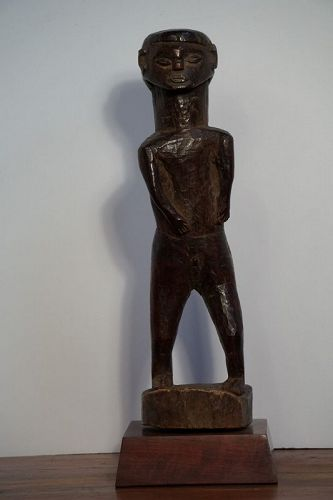 African Lwena Figure from Angola