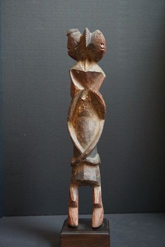 Two-Faced Chamba Ancestor Figure, Middle Benue River Valley, Nigeria