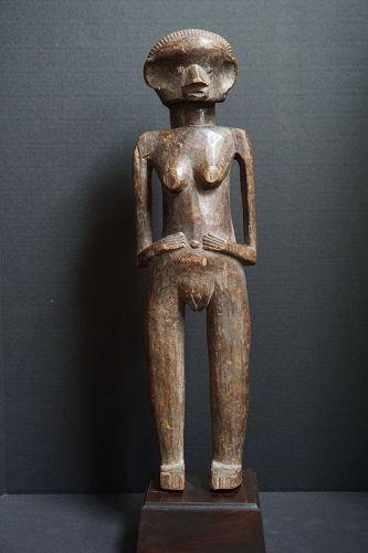 African Female Azande (Zande) Figure