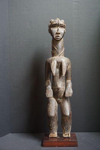 African Female Dan Statue