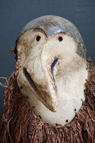 African Pere Bird Mask