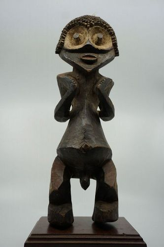 African Male Figure from Mambia, Cameroon