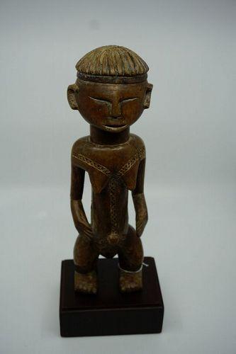African Female Figure from Bongo Sudan