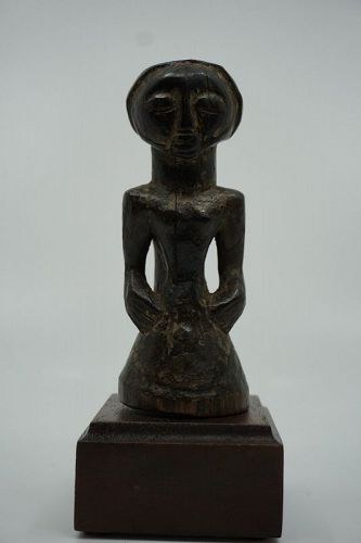 African Luba Torso Figurine from DRC