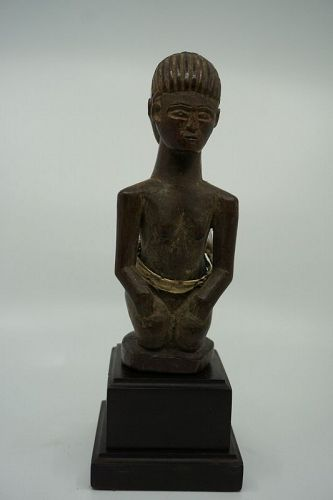 African Luba Janus Figure from the Congo