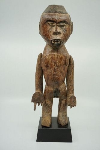 African Female Standing Igbo Figure from Nigeria