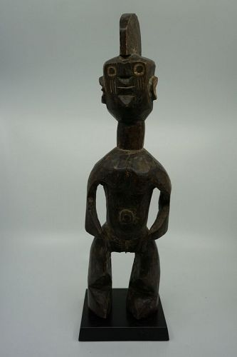 African Female Standing Mumuye Figure from Nigeria