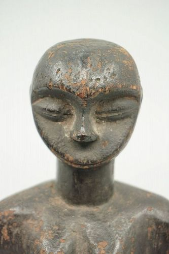 African Female Ogoni Figure from Nigeria