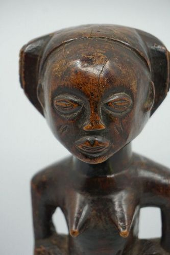 African Female Chokwe Figure from Angola