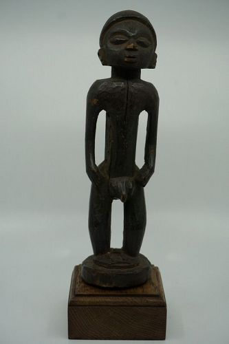 African Male Mangbetu Figure from Congo