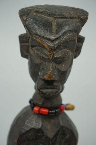 African Male Dengese Figure from Congo