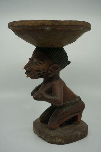 African Yuruba Ritual Bowl from Nigeria