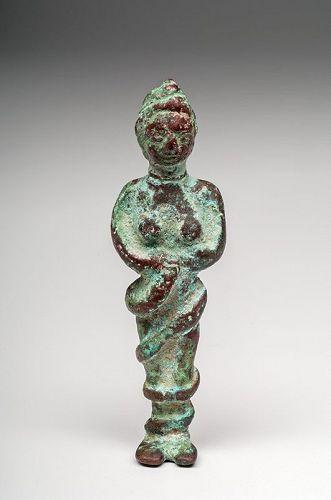 Near Eastern Bronze Snake Goddess