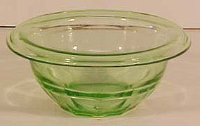 Hazel Atlas Green Mixing Bowl 5-3/4""